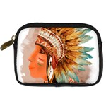 Native American Young Indian Shief Digital Camera Cases