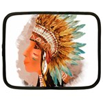 Native American Young Indian Shief Netbook Case (XXL)
