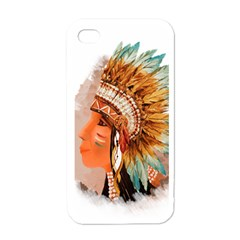 Indian7 Apple Iphone 4 Case (white)