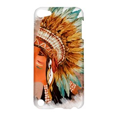 Native American Young Indian Shief Apple Ipod Touch 5 Hardshell Case