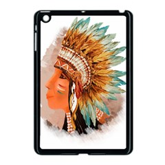 Native American Young Indian Shief Apple Ipad Mini Case (black)
