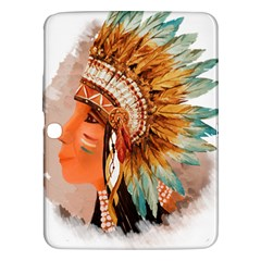 Native American Young Indian Shief Samsung Galaxy Tab 3 (10 1 ) P5200 Hardshell Case