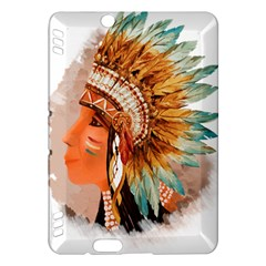 Native American Young Indian Shief Kindle Fire Hdx Hardshell Case