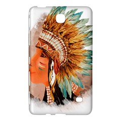 Native American Young Indian Shief Samsung Galaxy Tab 4 (8 ) Hardshell Case