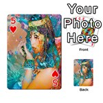 Star Illumination Playing Cards 54 Designs  Front - Heart5
