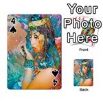 Star Illumination Playing Cards 54 Designs  Front - Spade4
