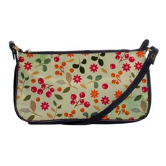 Elegant Floral Seamless Pattern Shoulder Clutch Bags