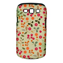 Elegant Floral Seamless Pattern Samsung Galaxy S Iii Classic Hardshell Case (pc+silicone)