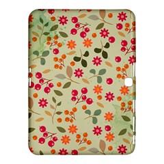 Elegant Floral Seamless Pattern Samsung Galaxy Tab 4 (10 1 ) Hardshell Case