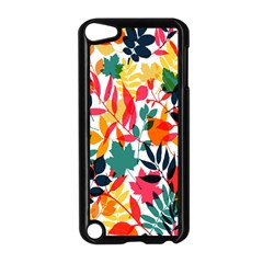 Seamless Autumn Leaves Pattern  Apple Ipod Touch 5 Case (black) by TastefulDesigns