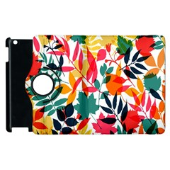 Seamless Autumn Leaves Pattern  Apple Ipad 3/4 Flip 360 Case by TastefulDesigns