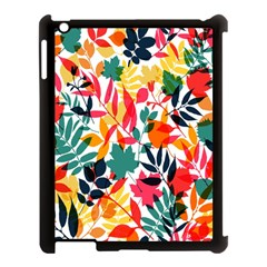 Seamless Autumn Leaves Pattern  Apple Ipad 3/4 Case (black) by TastefulDesigns