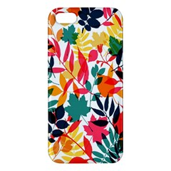 Seamless Autumn Leaves Pattern  Apple Iphone 5 Premium Hardshell Case by TastefulDesigns