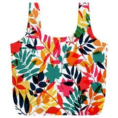 Seamless Autumn Leaves Pattern  Full Print Recycle Bags (l)  by TastefulDesigns