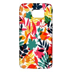 Seamless Autumn Leaves Pattern  Galaxy S6