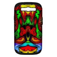 Faces Samsung Galaxy S Iii Hardshell Case (pc+silicone)