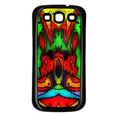 Faces Samsung Galaxy S3 Back Case (black)