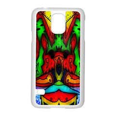 Faces Samsung Galaxy S5 Case (white)