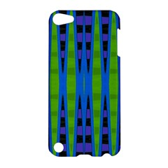 Blue Green Geometric Apple Ipod Touch 5 Hardshell Case