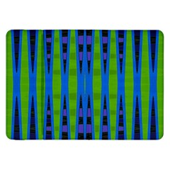 Blue Green Geometric Samsung Galaxy Tab 8 9  P7300 Flip Case