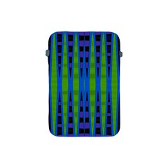Blue Green Geometric Apple Ipad Mini Protective Soft Cases