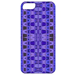 Blue Black Geometric Pattern Apple iPhone 5 Classic Hardshell Case