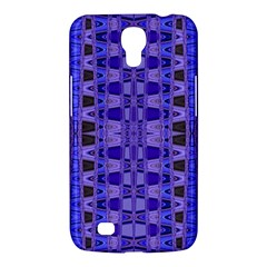 Blue Black Geometric Pattern Samsung Galaxy Mega 6.3  I9200 Hardshell Case