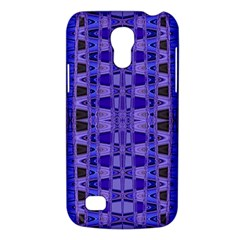 Blue Black Geometric Pattern Galaxy S4 Mini