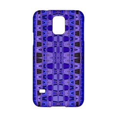 Blue Black Geometric Pattern Samsung Galaxy S5 Hardshell Case