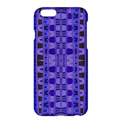 Blue Black Geometric Pattern Apple iPhone 6 Plus/6S Plus Hardshell Case