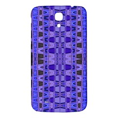 Blue Black Geometric Pattern Samsung Galaxy Mega I9200 Hardshell Back Case
