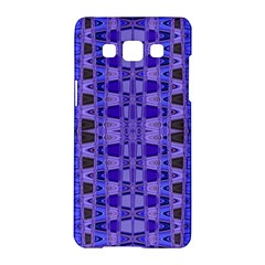 Blue Black Geometric Pattern Samsung Galaxy A5 Hardshell Case