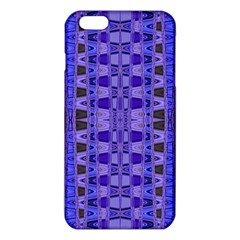 Blue Black Geometric Pattern iPhone 6 Plus/6S Plus TPU Case