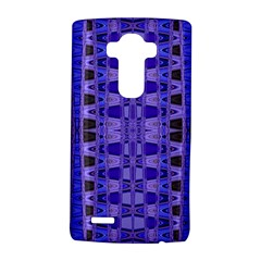 Blue Black Geometric Pattern LG G4 Hardshell Case