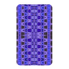 Blue Black Geometric Pattern Memory Card Reader