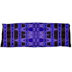 Blue Black Geometric Pattern Body Pillow Case (Dakimakura)