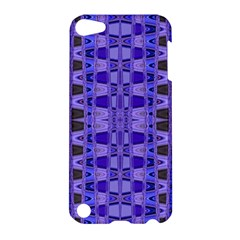 Blue Black Geometric Pattern Apple iPod Touch 5 Hardshell Case