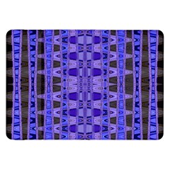 Blue Black Geometric Pattern Samsung Galaxy Tab 8.9  P7300 Flip Case