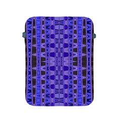 Blue Black Geometric Pattern Apple iPad 2/3/4 Protective Soft Cases