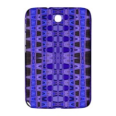 Blue Black Geometric Pattern Samsung Galaxy Note 8.0 N5100 Hardshell Case
