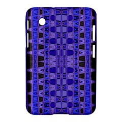 Blue Black Geometric Pattern Samsung Galaxy Tab 2 (7 ) P3100 Hardshell Case