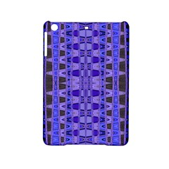 Blue Black Geometric Pattern iPad Mini 2 Hardshell Cases