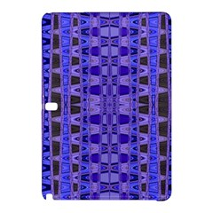Blue Black Geometric Pattern Samsung Galaxy Tab Pro 10.1 Hardshell Case
