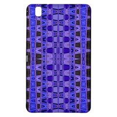 Blue Black Geometric Pattern Samsung Galaxy Tab Pro 8.4 Hardshell Case