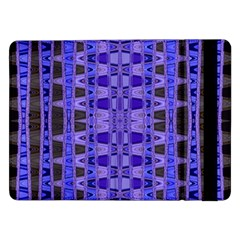 Blue Black Geometric Pattern Samsung Galaxy Tab Pro 12.2  Flip Case