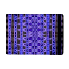 Blue Black Geometric Pattern iPad Mini 2 Flip Cases