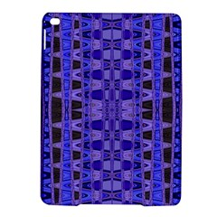 Blue Black Geometric Pattern iPad Air 2 Hardshell Cases