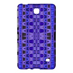 Blue Black Geometric Pattern Samsung Galaxy Tab 4 (7 ) Hardshell Case