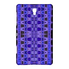Blue Black Geometric Pattern Samsung Galaxy Tab S (8.4 ) Hardshell Case