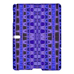 Blue Black Geometric Pattern Samsung Galaxy Tab S (10.5 ) Hardshell Case